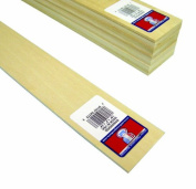 Midwest Products 4113 Micro-Cut Quality Basswood Sheet Bundle, 0.125x 2Inches x 60cm