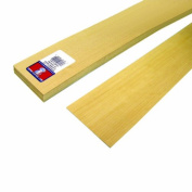 Midwest Products 4450 Scale Lumber Basswood Clapboard Siding, 24x 3Inches x 0.2cm , 0.125 Spacing