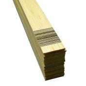 Midwest Products 6103 Micro-Cut Quality Balsa 90cm Sheet Bundle, 0.2cm x 2.5cm