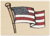 Rubber Stamp - American Flag