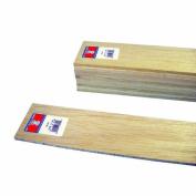 Midwest Products 6306 Micro-Cut Quality Balsa 90cm Sheet Bundle, 0.6cm x 7.6cm