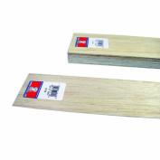 Midwest Products 6301 Micro-Cut Quality Balsa 90cm Sheet Bundle, 0.08cm x 7.6cm