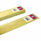 Midwest Products 6201 Micro-Cut Quality Balsa 90cm Sheet Bundle, 0.08cm x 5.1cm