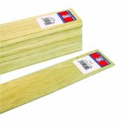 Midwest Products 6204 Micro-Cut Quality Balsa 90cm Sheet Bundle, 0.3cm x 5.1cm