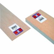 Midwest Products 6404 Micro-Cut Quality Balsa 90cm Sheet Bundle, 0.3cm x 10cm