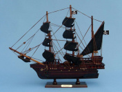 England's Pearl 36cm - Wooden Pirate Ship Toy - Wood Pirate Ship Decor - Decorative Pirate Ship Replica - Nautical Decor - Model Pirate Ship - Wooden Pirate Ship Replica - Sold Fully Assembled - Not A Model Ship Kit