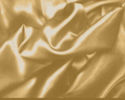 Gold Stretch Charmeuse Fabric 150cm By the Yard