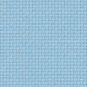 Zweigart 14Ct Aida-46cm X 50cm Needlework Fabric - Light Blue