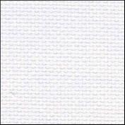 Zweigart 20Ct Aida-46cm X 50cm Needlework Fabric - White