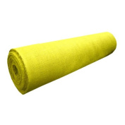 120cm WIDE X 1YD LONG YELLOW BURLAP