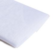 Koyal Wholesale 10-Yard Sheer Organza Fabric Bolt, 150cm , White