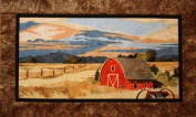 The Back Forty Barn Landscape Toni Whitney Designs Applique Quilt Pattern