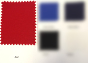 Canvas Duck 300ml Dyed Fabric RED 150cm X 3 Yards