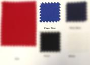 Canvas Duck 300ml Dyed Fabric ROYAL BLUE 150cm X 3 Yards