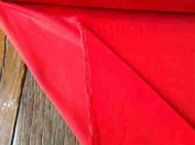 Red Light weight Dressmaking Velvet / Velveteen - 110cm - 210ml/yd²