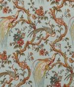 Waverly Olana/OXF Bay Leaf Fabric - by the Yard