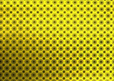 3d Lenticular Sheets --- Yellow Animated Spinning Circles