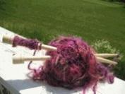 """Natural Wood Knit Stix 10"""" US Size 10.5/6.5mm Knitting Needles"""
