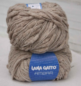 1x50g50ml Alpaca-Wool-Acrylic Blend Ambra Polar yarn by Lana Gatto / BEIGE