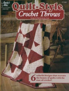 Annie's Attic-quilt-style Crochet Throws