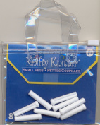 Replacement Pegs for the Knifty Knitter Looms- Small, White, 8 Pegs in Pkg