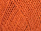 Ella Rae Classic Wool Yarn #334 Orange Delight 100g