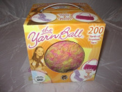 The Yarn Ball Learn to Knit DVD and Yarn