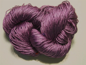 100% Pure Reeled Mulberry Silk Filature Yarn 50 gramme RS013 Purple Glow