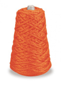 Trait-tex 4-Ply Jumbo Roving Yarn Refill Cone, Orange, 87 Yards
