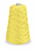 Trait-tex 4-Ply Jumbo Roving Yarn Refill Cone, Yellow 87 Yards