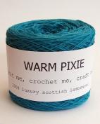Luxury 100% Soft Scottish Lambswool - Turquoise - For Hand & Machine Knitting, Crochet and Crafting.