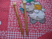 9 inch single pointed BrilliantKnitting (BR brand) bamboo knitting needle US 35