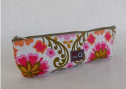 Della Q Long Zip Pouch for Accessories #1102-1 Kirkwood Meadow
