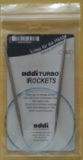 "Addi Skacel Turbo Sock Rockets Circular Needles 16"", 5.0 mm US Size 8"