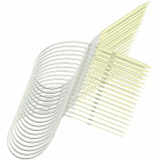 YazyCraft Circular Bamboo Knitting Needles 80cm