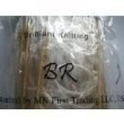 BrilliantKnitting (BR brand) 15 size 60cm bamboo circular knitting needles pins US 0-15