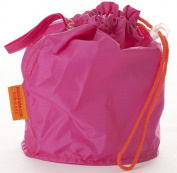 Pink Medium GoKnit Pouch Project Bag w/ Loop & Drawstring