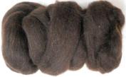 Woolpets felting roving wool chocolate
