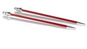 Signature Needle Arts Single Point Needle Size 7, Stiletto Point, Tear Cap Knitting Needle
