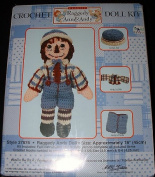 Raggedy Andy Doll Crochet Doll Kit Style# 37876