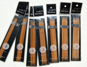 U-nitt Bamboo Knitting Needles Double Point 18cm Sz 1, 2, 3, 4, 5, 6, 7
