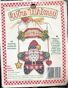 Star Santa Whimsy By Karen Avery - Counted Cross Stitch Kit - Wire Whimsy - #72195