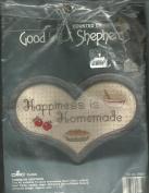 """""""HAPPYNESS IS HOMEMADE"""", GOOD SHEPHERD #83523"""