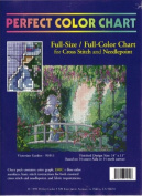 Victorian Garden - Full-Size / Full-Colour Chart for Cross Stitch and Needlepoint