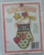 Mitten Whimsy By Karen Avery - Counted Cross Stitch Kit - Wire Whimsy - #72193