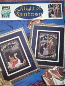 FLIGHT OF FANTASY CROSS STITCH PATTERNS DESIGNED BY KYLE HOLLINGSWORTH FOR TRUE colours CROSS STITCH #BCL10089