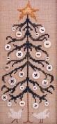 The Button Tree, - Cross Stitch Pattern