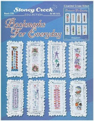 Bookmarks For Everyday - Cross Stitch Pattern