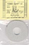 Tiger Tape Quilter's Stitching Guide Tape 12 Marks Per Inch 30 Yards