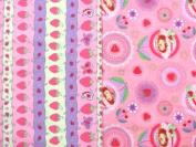 Strawberry Shortcake Throw Pillows Quilting Fat Quarter (2 Fat Quarters) Fabric NEW